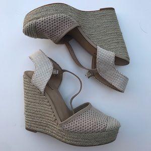 2b09564da48 Lucky Brand Shoes - Lucky Brand Reandra Espadrille Crochet Wedge Heel